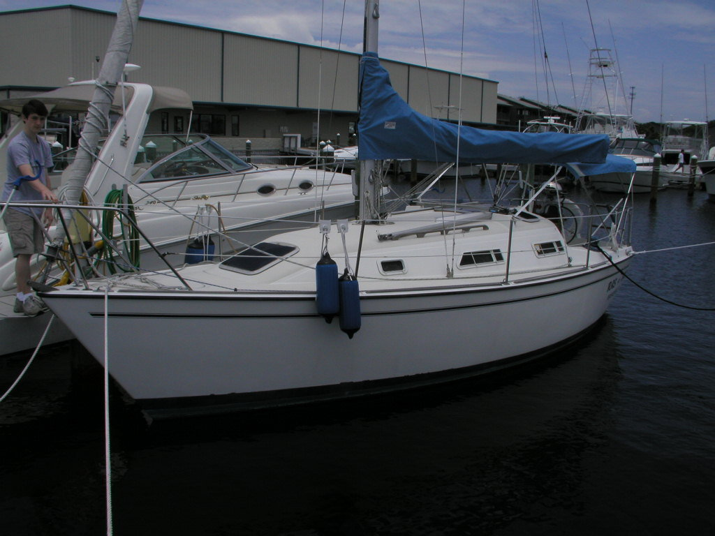 1989 Pearson sailboat